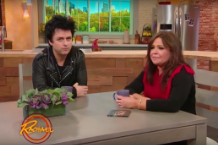 green day billie joe armstrong rachael ray interview