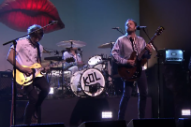 Watch Kings of Leon Play &#8220;Waste a Moment&#8221; on <em>Fallon</em>