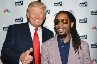 "Lil Jon Distances Himself From Donald Trump, Who Called Him ""Uncle Tom"" on <em>The Apprentice</em> Set"