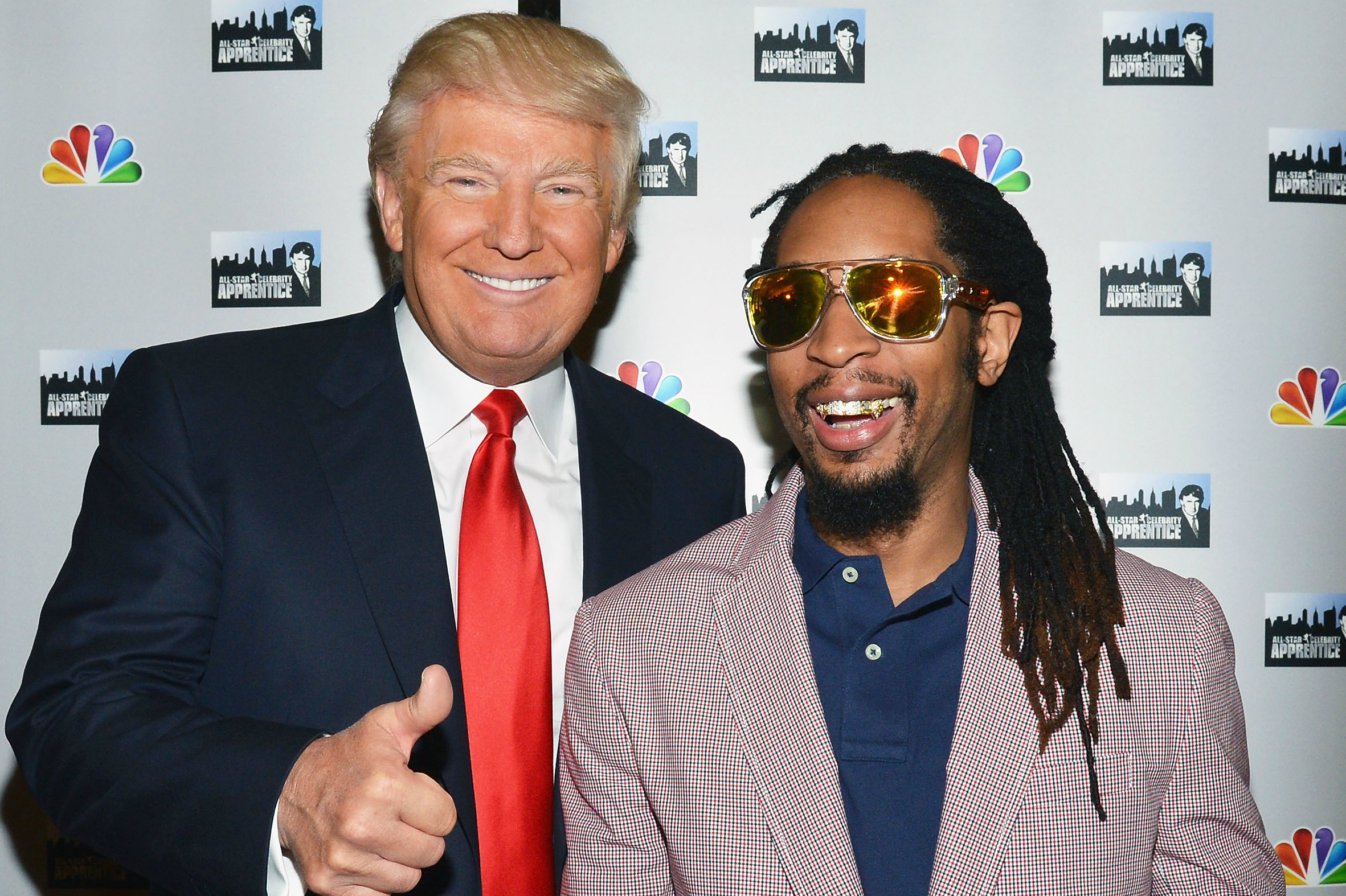 "Lil Jon Distances Himself From Donald Trump, Who Called Him ""Uncle Tom"" on The Apprentice Set 