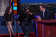 Pusha T Continues His Hillary Clinton Endorsement Run on <em>Colbert</em>