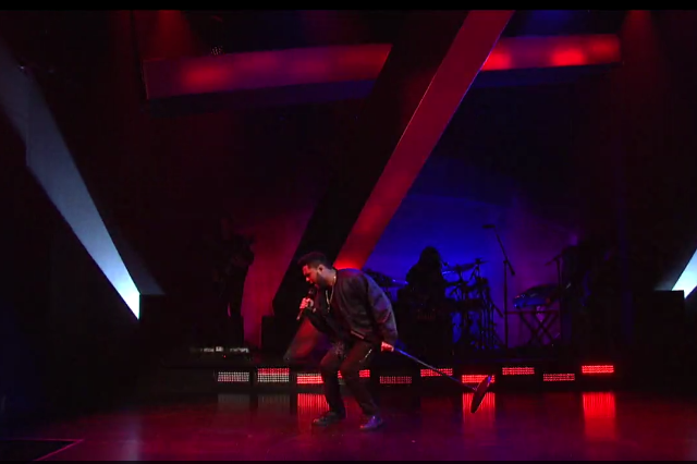 the weeknd snl