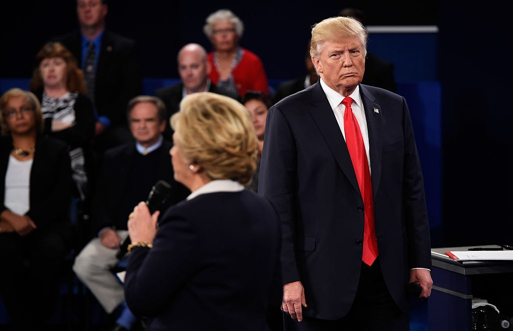 trump debate lurking