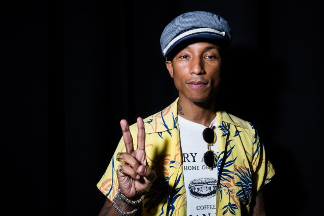 iHeartMedia Hosts Main Stage Fireside Chat About Creativity With Radio And Television Host And Producer Ryan Seacrest And Grammy Award winner Musician/Entrepreneur Pharrell Williams