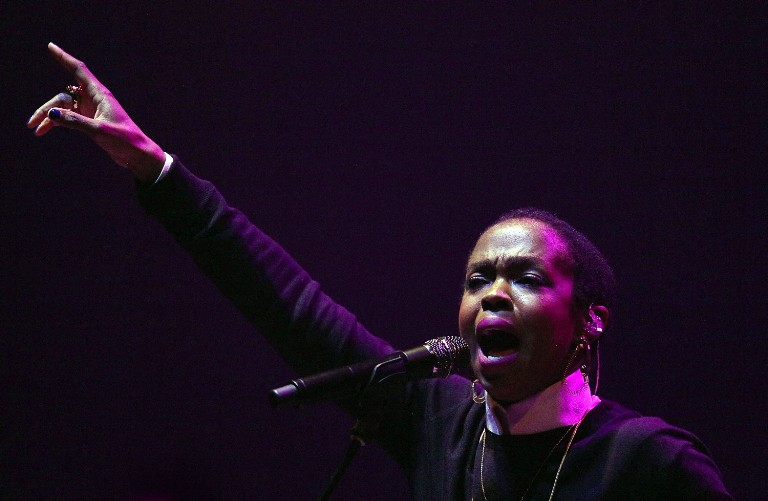 Lauryn Hill Performs Live In Melbourne
