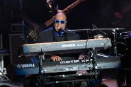 Watch Stevie Wonder Perform &#8220;Don&#8217;t Worry Bout a Thing&#8221; and &#8220;The Star-Spangled Banner&#8221; on <i>Colbert</i>