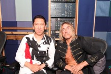 Hotei and Iggy Pop