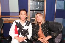 Hotei and Iggy Pop