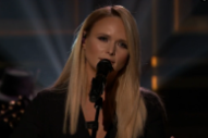 Watch Miranda Lambert Perform &#8220;Vice&#8221; on <i>The Tonight Show</i>