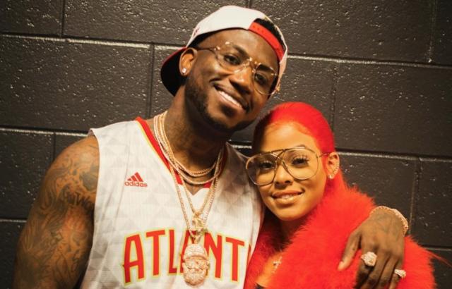 e3661441 Gucci Mane Proposed to Keyshia Ka'oir on Kisscam at an Atlanta Hawks Game  Last Night