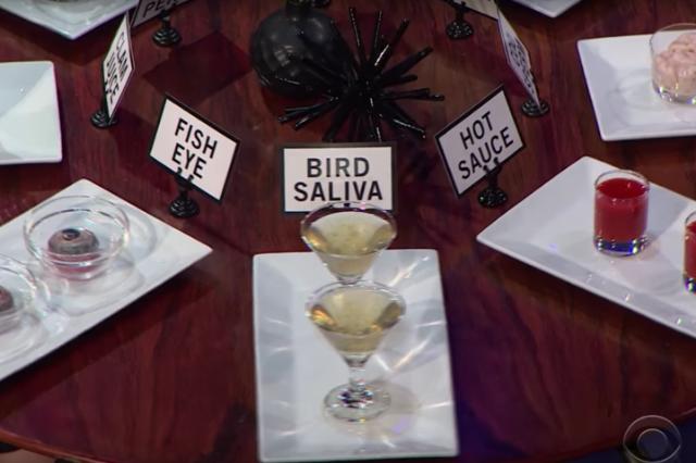 bird saliva