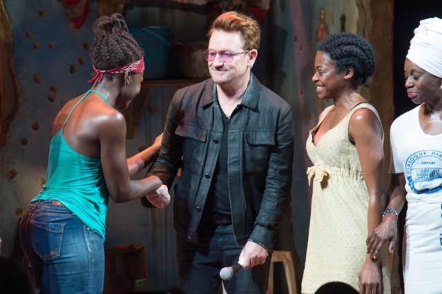 Bono Visits