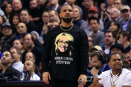 Drake Had a Bad Night at Yesterday's Raptors Game
