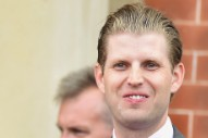 Like Justin Timberlake, Eric Trump Broke the Law While Voting