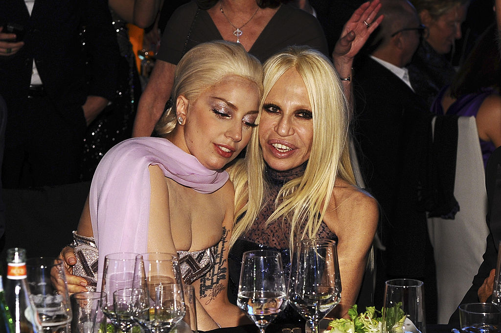 Report lady gaga will play donatella versace in third for Donatella versace beach
