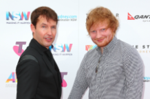 princess beatrice ed sheeran james blunt