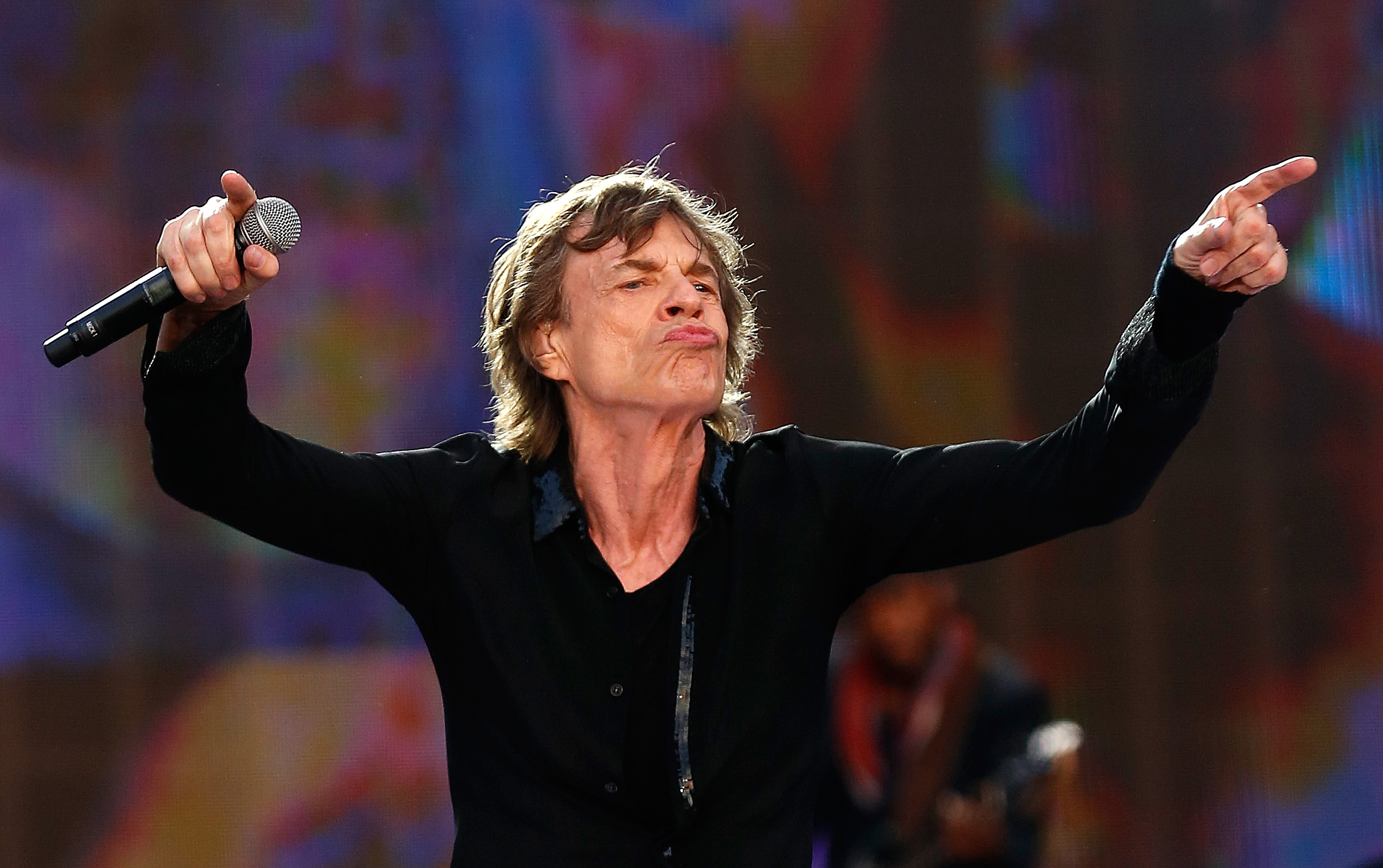 Mick Jagger: Mick Jagger, 73, Is A Father Again