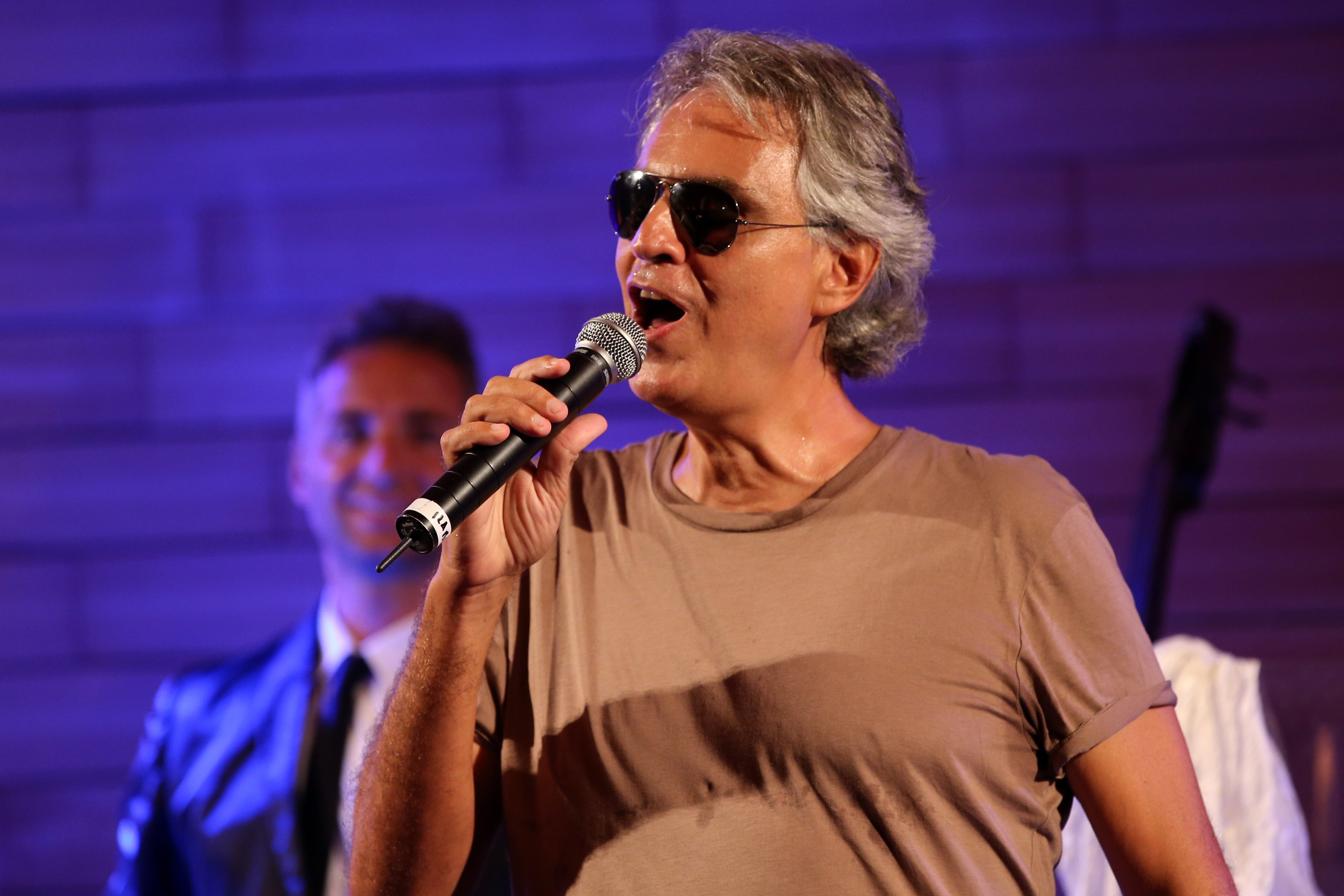 2015 Celebrity Fight Night Italy benefiting The Andrea Bocelli Foundation