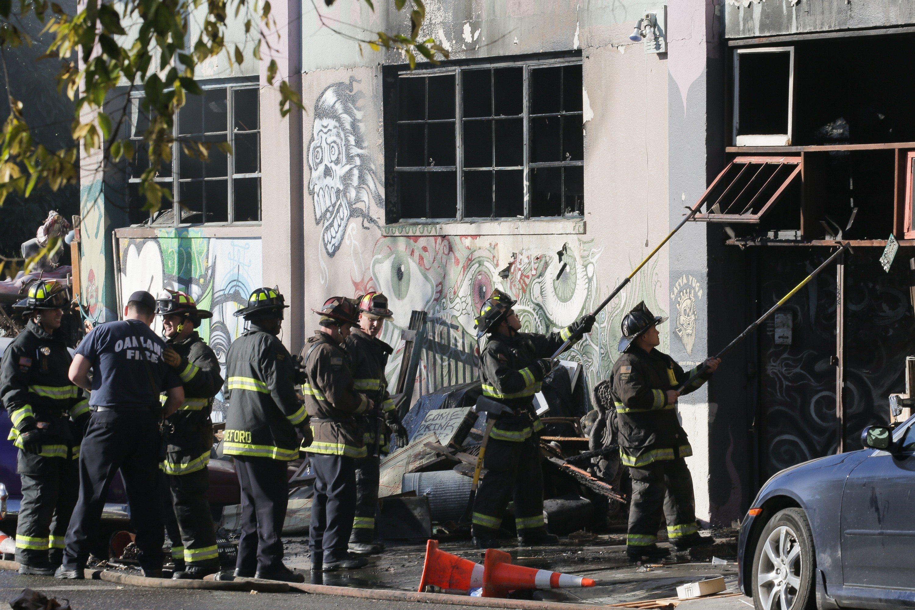 Warehouse Fire Kills Several People At Dance Party In Oakland
