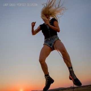 LadyGagPerfectIllusion_Single