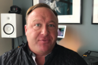 Conspiracy King Alex Jones Might Have a Side Career as an Acid House Musician