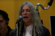 Watch Patti Smith Perform at Bob Dylan's Nobel Prize Ceremony