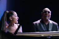"Video: Stevie Wonder & Ariana Grande – ""Faith"""
