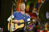 "Watch Coldplay's Chris Martin Cover Wham!'s ""Last Christmas"" at a London Homeless Shelter"