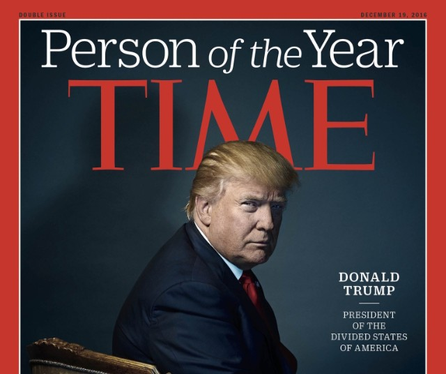Time Person Of The Year >> Donald Trump Named Time Person Of The Year Joining Proud Ranks Of