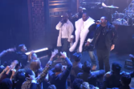 "Watch Busta Rhymes, the Roots, and Joell Ortiz Perform ""My Shot"" From <em>The Hamilton Mixtape</em>"