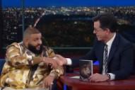 Watch DJ Khaled Continue to Be DJ Khaled on <i>Colbert</i>