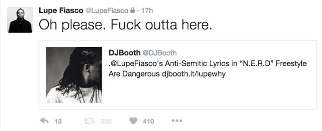 lupe fiasco tweet