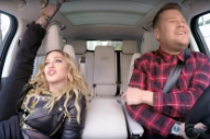 "Watch Madonna Twerk in the Passenger Seat of ""Carpool Karaoke"""