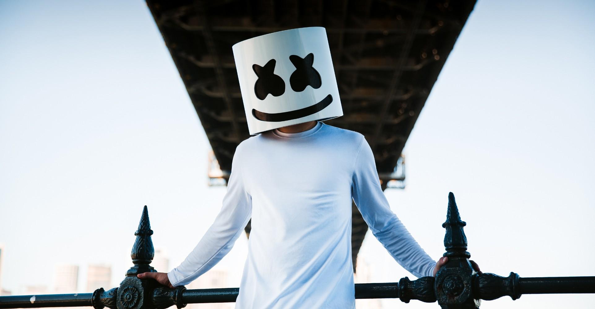 Marshmello Is EDM's Masked Hero