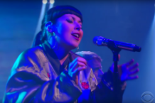sleigh bells late show video watch