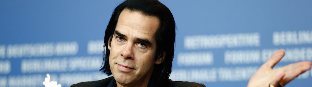 Good Teen Takes Panic Selfie With Nick Cave So He Wouldn't Feel Left Out