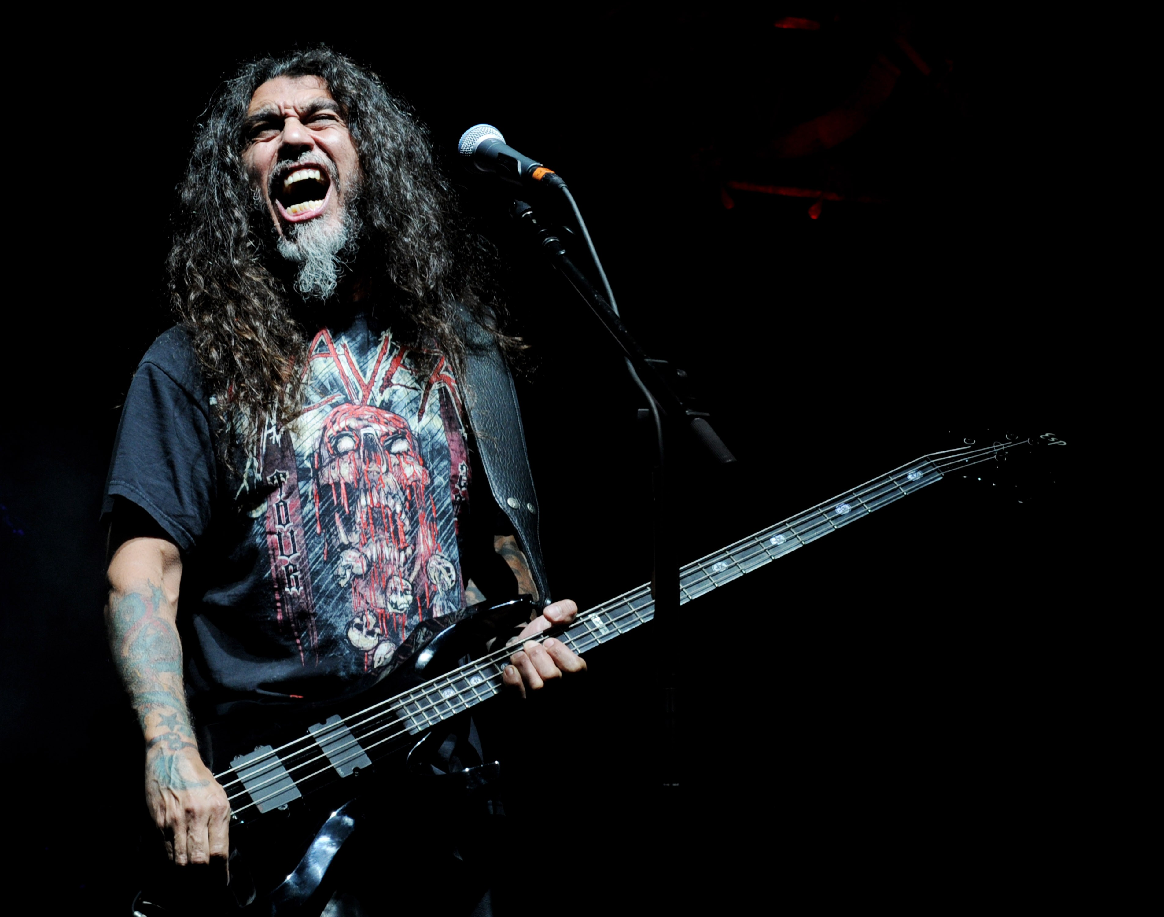 Slayer, Megadeth and Anthrax Perform At The Gibson Amphitheatre