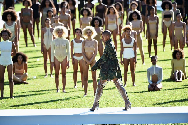 Kanye West Yeezy Season 4 - Presentation
