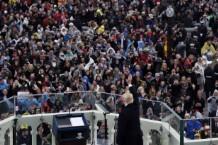 WASHINGTON, DC - JANUARY 20: The inauguration of President Dona