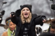 "Texas Radio Station Bans Madonna ""Indefinitely"" Following Her Women's March Speech"
