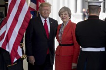 President Trump Holds News Conference With UK Prime Minister Theresa May