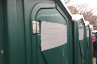 Port-a-Potty Piss Jokes Prevail Despite Attempted Cover-Up at Trump Inauguration