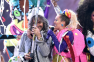 "New Music: Miley Cyrus Joins the Flaming Lips for ""We a Famly"""