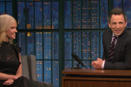 Seth Meyers' Confrontation With Trump Advisor Kellyanne Conway Over Russian Hacking Allegations Was Pleasantly Contentious