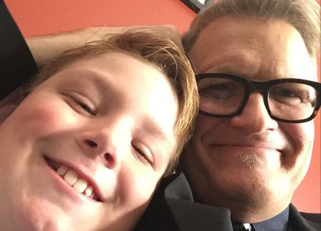 Drew Carey's son started fire outside Trump's 'Deploraball' on eve of inauguration