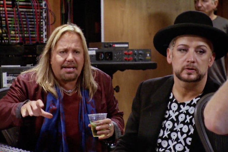 boy george vince neil