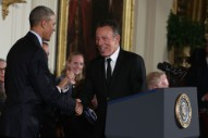 Bruce Springsteen Played a Secret Show for Obama Staffers at the White House