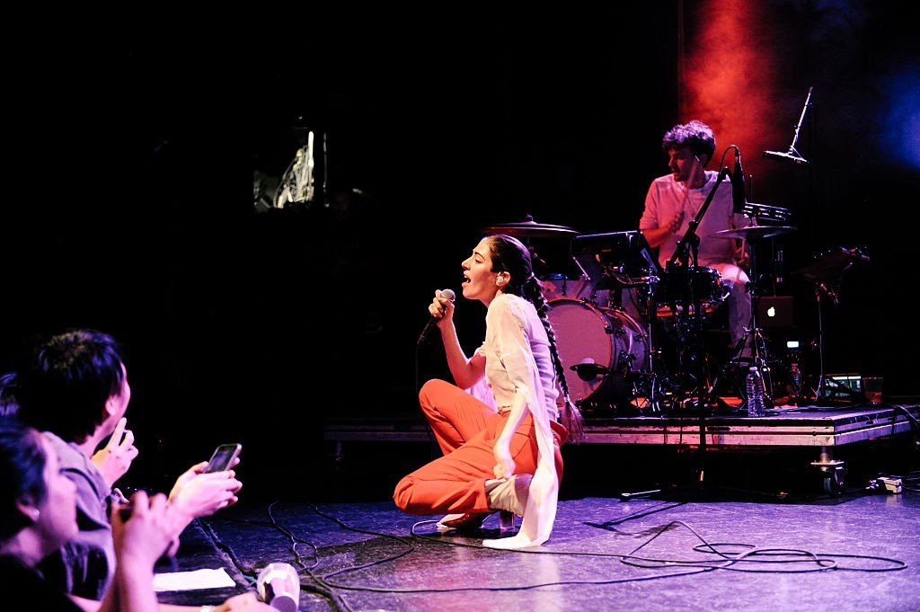 Chairlift Performs At El Rey Theatre