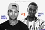 Soulja Boy and Chris Brown Stage Fake Feud for Real, Televised Boxing Match
