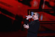 George Michael Performs In Milan